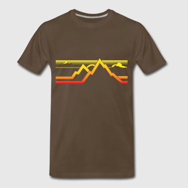 Mountains mountains - Men's Premium T-Shirt