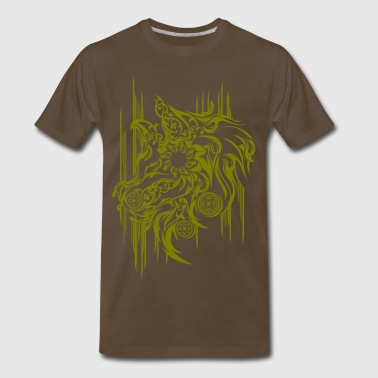 HORSE HEAD MURAL ETNIC - Men's Premium T-Shirt