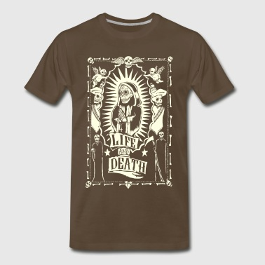 Life and Dead - Men's Premium T-Shirt