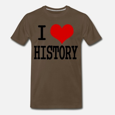 European History I love history - Men's Premium T-Shirt