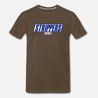 Snickers STRIPPERS Satisfy - Men's Premium T-Shirt