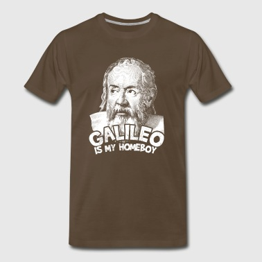 Galileo Is My Homeboy - Men's Premium T-Shirt