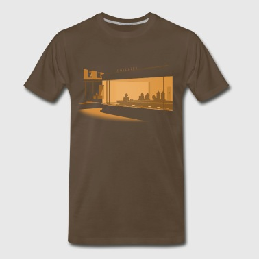 Nighthawks - Men's Premium T-Shirt