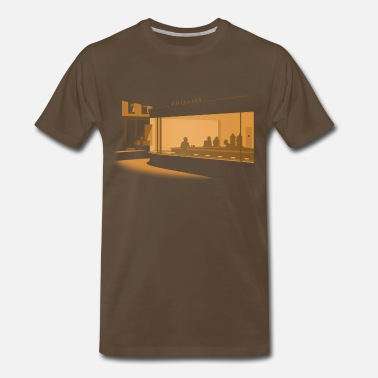 Nighthawks Hopper Nighthawks - Men's Premium T-Shirt
