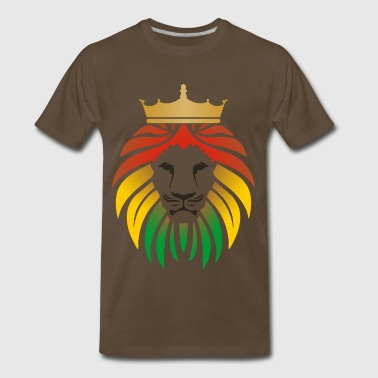lion_reggae_king_2 - Men's Premium T-Shirt