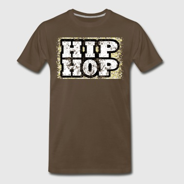 Hip Hop Retro Design - Men's Premium T-Shirt