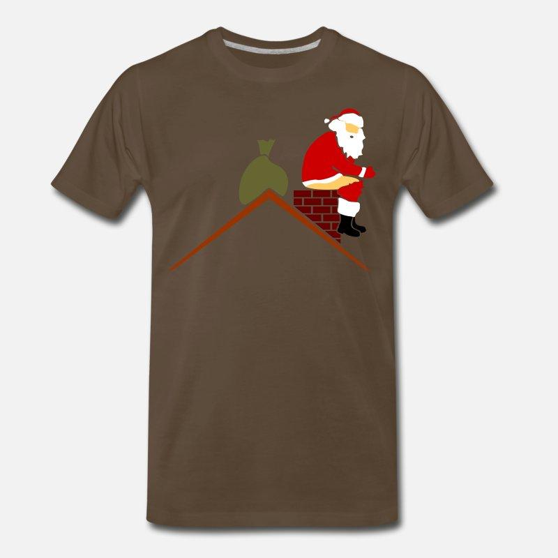 6ce66e766 Shop Santa Pooping T-Shirts online