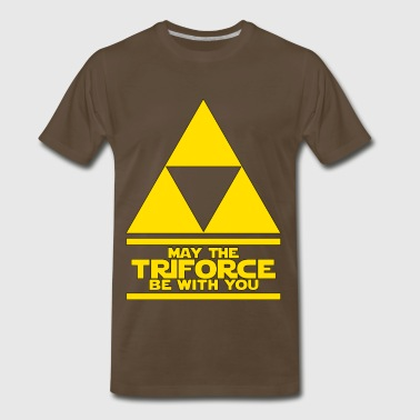 May the Triforce - Men's Premium T-Shirt