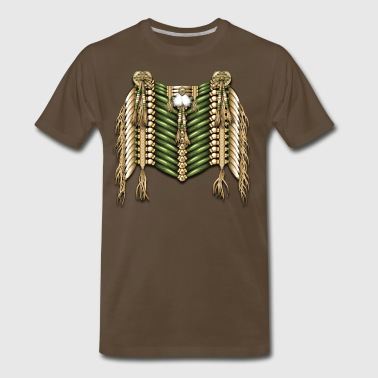 Native Breastplate 6 - Men's Premium T-Shirt