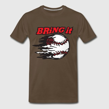 baseball torn - Men's Premium T-Shirt
