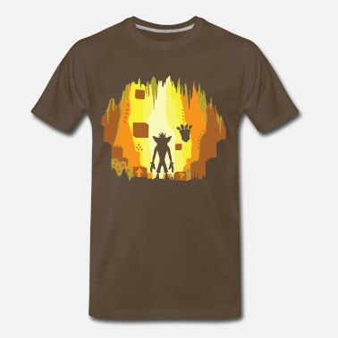 Crash Wumpa World - Men's Premium T-Shirt