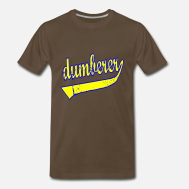 Idiot Dumb Dumberer Dumb Idiot - Men's Premium T-Shirt