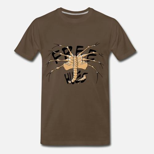 Face Hugger 2 Colour Mens Premium T Shirt