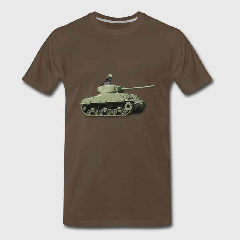 War Pug - Men's Premium T-Shirt