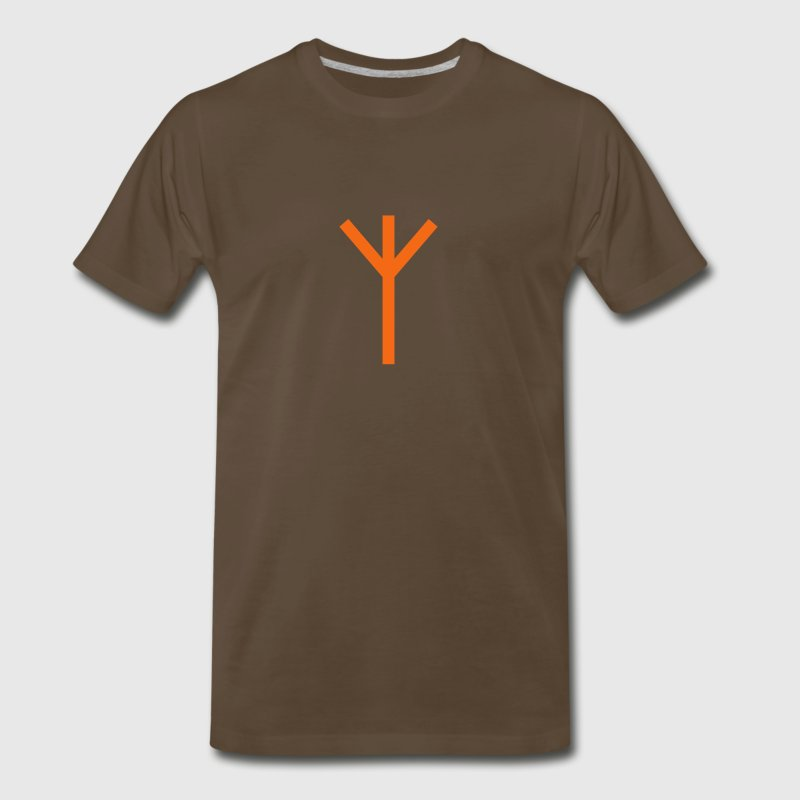 Viking Algiz Rune - Men's Premium T-Shirt