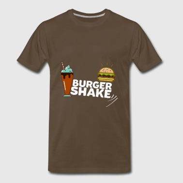 Burger+Milkshake = Burger Shake - Men's Premium T-Shirt