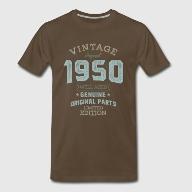 Vintage 1950 Well Aged - Men's Premium T-Shirt