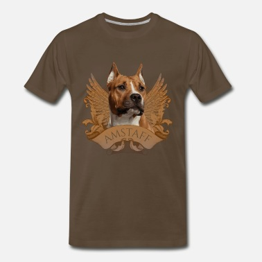 Staffordshire Bull Terrier American Staffordshire Terrier - Amstaff - Men's Premium T-Shirt