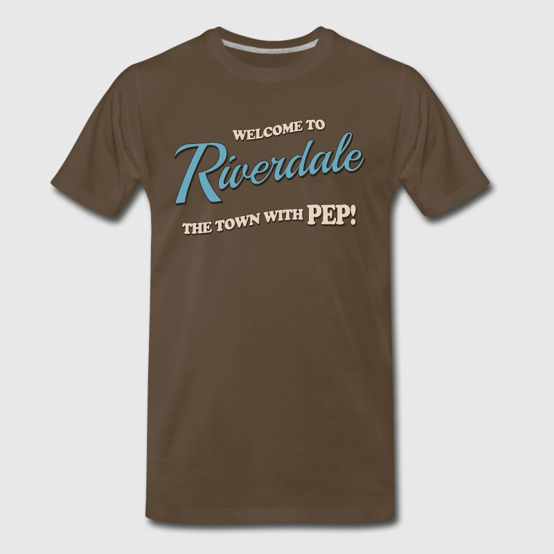 Riverdale - Welcome To Riverdale The Town With Pep - Men's Premium T-Shirt