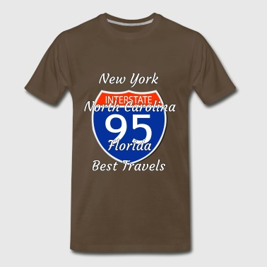 travels 95 - Men's Premium T-Shirt