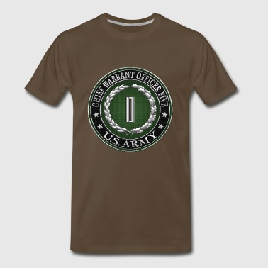 Rank Insignia Chief Warrant Officer Five (CW5) Rank Insignia - Men's Premium T-Shirt