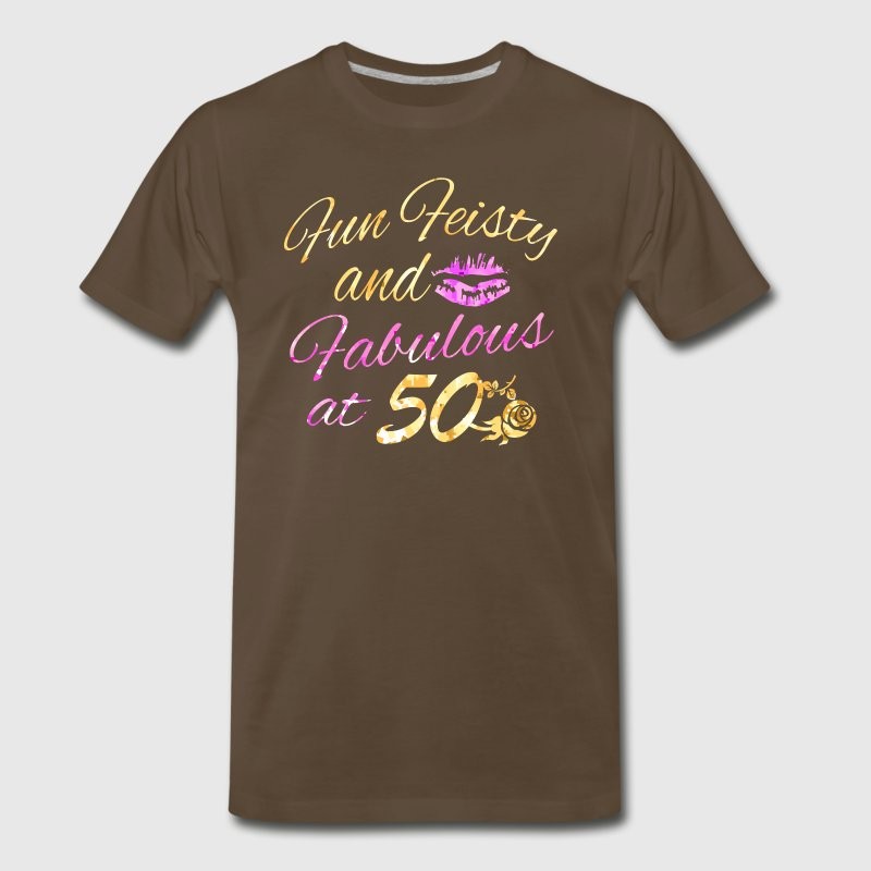 50th birthday designs - Men's Premium T-Shirt
