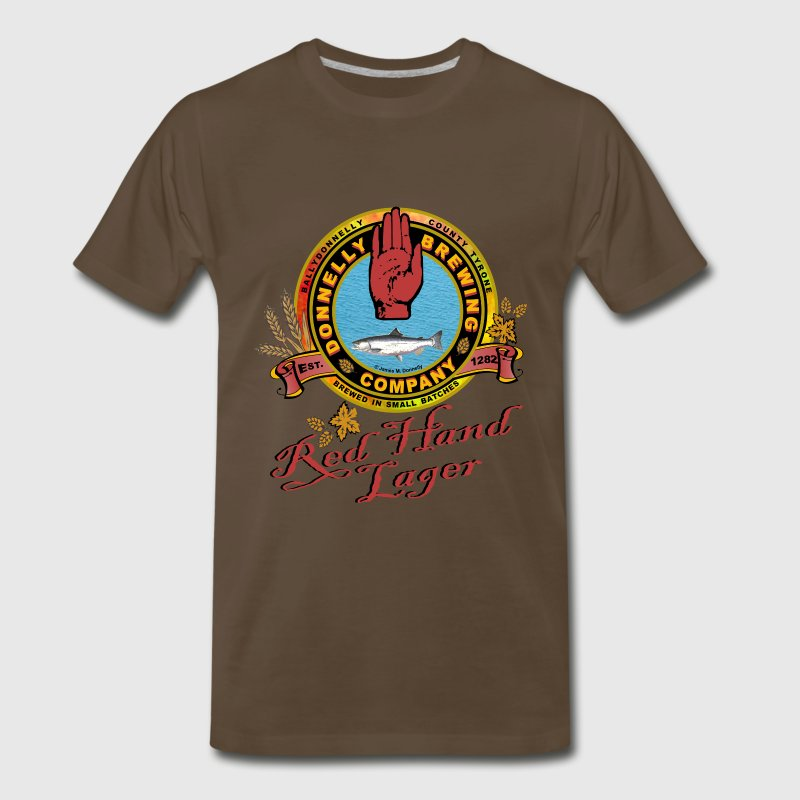 Donnelly Brewing Company - Men's Premium T-Shirt