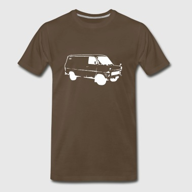 White van [white edition] - Men's Premium T-Shirt