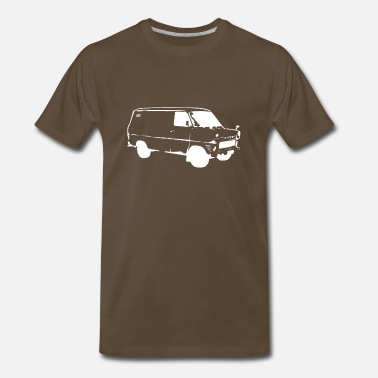 Deisel White van [white edition] - Men's Premium T-Shirt