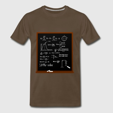 Mathematical Calculation - Men's Premium T-Shirt