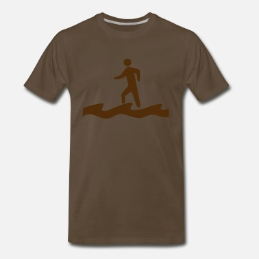 Water Walking Walk on Water - Men's Premium T-Shirt