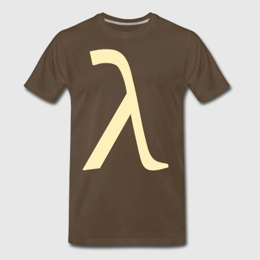 Latin Greek Lambda - Men's Premium T-Shirt