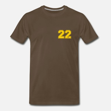 Huge 22 centimeter - Men's Premium T-Shirt