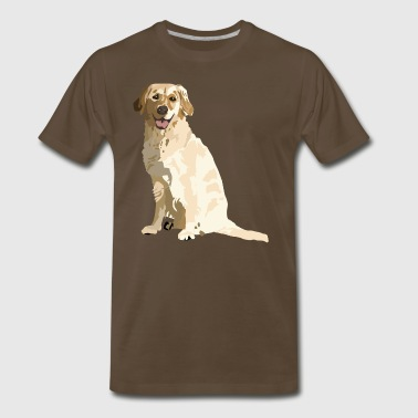 Golden - Men's Premium T-Shirt