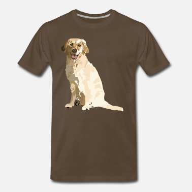 Golden King  Golden - Men's Premium T-Shirt
