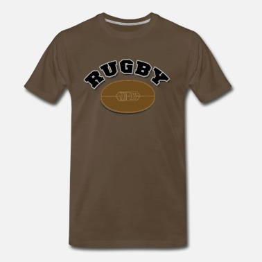 Varsity Rugby Rugby - Men's Premium T-Shirt
