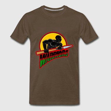 African Warrior Warriors - Men's Premium T-Shirt