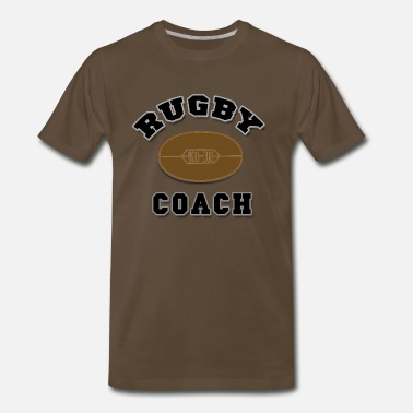 Coach Rugby Rugby Coach - Men's Premium T-Shirt