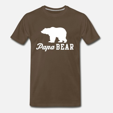 Funny Family Papa Bear - Men's Premium T-Shirt
