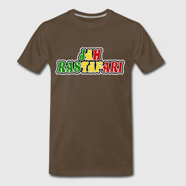 jah rastafari - Men's Premium T-Shirt