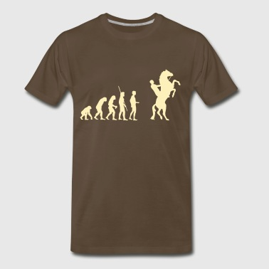 Evolution Horse - Men's Premium T-Shirt