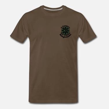 Starship roughnecks_olive_drab_2 - Men's Premium T-Shirt