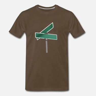 Street Sign Where the Streets.... - Men's Premium T-Shirt