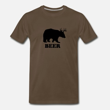 Deer Bear Deer or Bear - Men's Premium T-Shirt