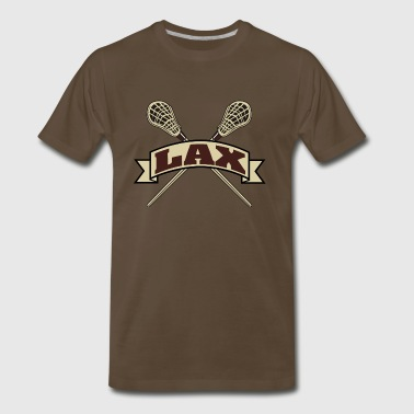 Lacrosse LAX - Men's Premium T-Shirt