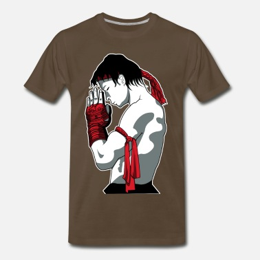 Puissance fighting spirit - Men's Premium T-Shirt