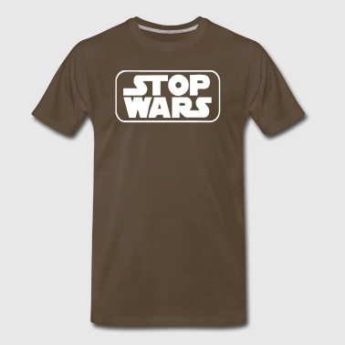 Stop Wars Star Darth Vader Jedi Yoda Stormtrooper - Men's Premium T-Shirt
