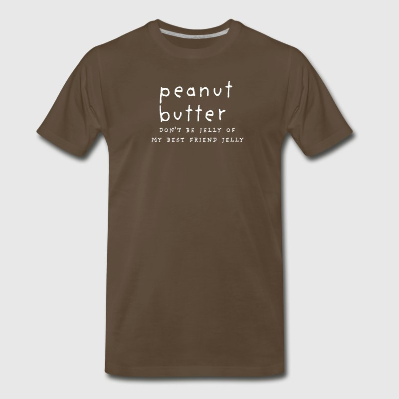 Peanut Butter & Jelly Best Friends - Men's Premium T-Shirt