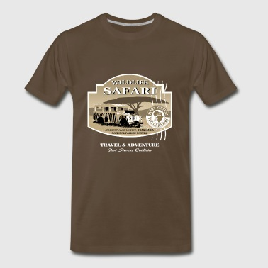 Landrover Jeep Safari Wildlife - Men's Premium T-Shirt
