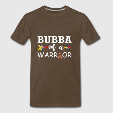 Bubba Of A Warrior Autism Awareness - Men's Premium T-Shirt